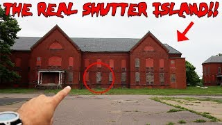 EXPLORING THE REAL SHUTTER ISLAND ABANDONED MENTAL ASYLUM | MOE SARGI