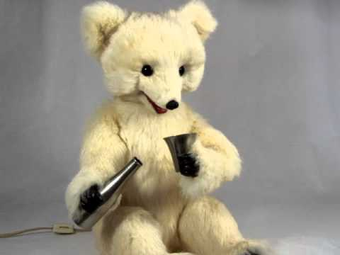 Decamps Electric Drinking Bear Automaton
