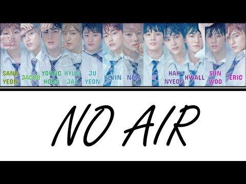 [Color Coded Lyrics] THE BOYZ () - No Air [Han/Rom/Eng]