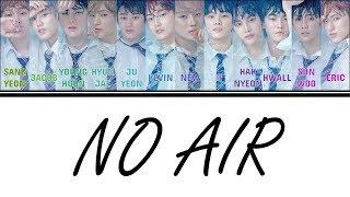 Download Mp3  Color Coded Lyrics  The Boyz  더보이즈  - No Air  Han/rom/eng