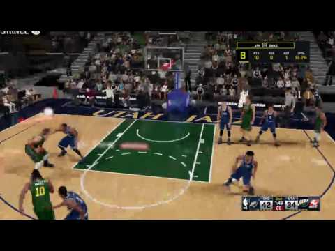 2k16 my career  facing jazz