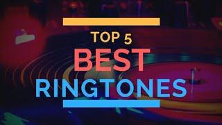 Top Five Mobile Ringtone   Best 5 Tiktok Ringtone