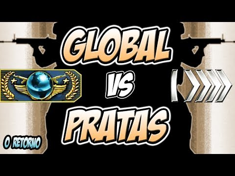 CS:GO | Global VS Pratas - O RETORNO?! 🔪