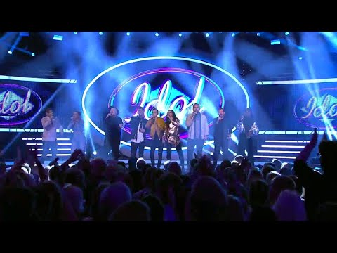 Medley av svenska hits i Idol 2017 - Idol Sverige (TV4)