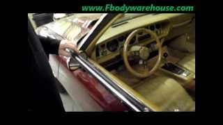 How To Install Door Top WIndow Sweeps on 1970 - 1981 Camaro & Trans Am