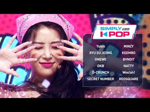 Simply K-Pop Ep416 – Yubin유빈 MINZY민지 RYU SU JEONG류수정 BVNDIT밴디트 Wooah우아