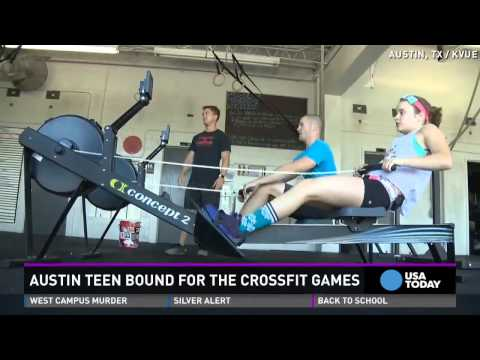 14-year-old girl to compete in CrossFit Games