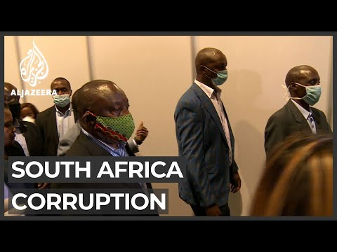 South Africa sets up body to probe coronavirus corruption