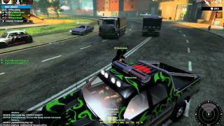 Dump Truck flips car APB Reloaded