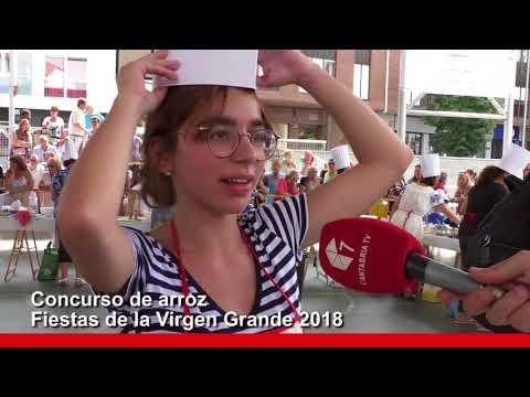 Concurso de arroz de las Fiestas de la Virgen Grande 2018 de Torrelavega