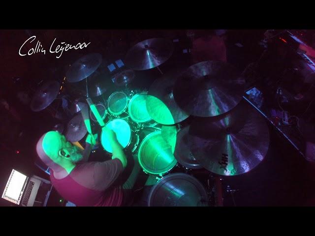 Drumsolo Collin Leijenaar during Kayak tour 2018