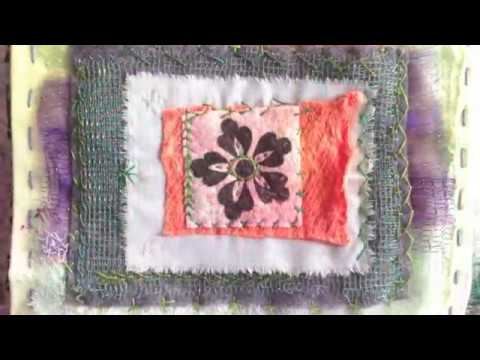hand embroidery applique designs with block printing youtube. Black Bedroom Furniture Sets. Home Design Ideas