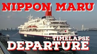 Shipspotting: Nippon Maru Departing Port of Yokohama Japan Time Lapse thumbnail