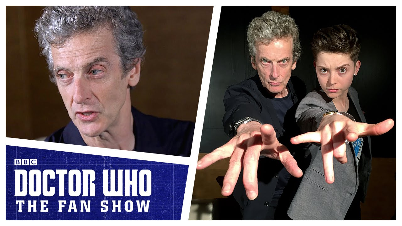 EXCLUSIVE: Doctor Who's Peter Capaldi On Fans, Tennant And Being A Heartthrob