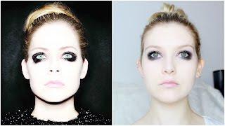Avril Lavigne Album Cover Make Up Tutorial