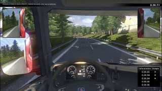 Scania Truck Simulator - Gameplay (Pruebas De Reaccion) HD