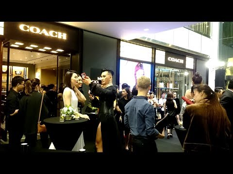 Coach NY Grand Opening - New Flagship Store at Saigon Centre, HoChiMinh City