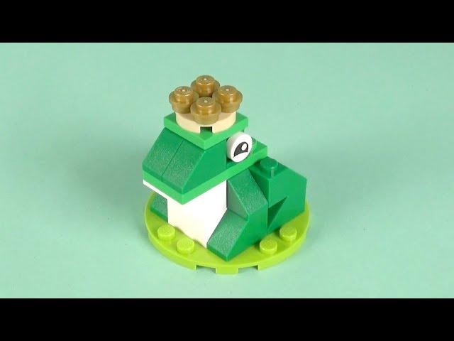 LEGO Frog Building Instructions - LEGO Classic 10717