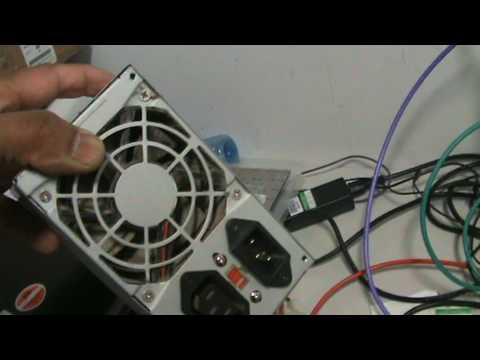 Computer Service & Repair : Replaceing the Mains Power Supply Unit ...
