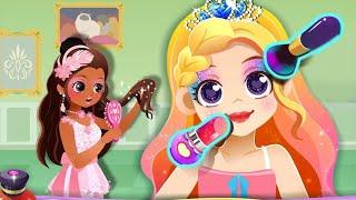 Baby Panda Princess Makeup Salon - Fun Makeover Kids Games