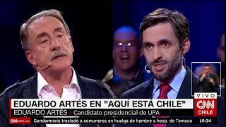 El mano a mano de Daniel Matamala y Eduardo Artés