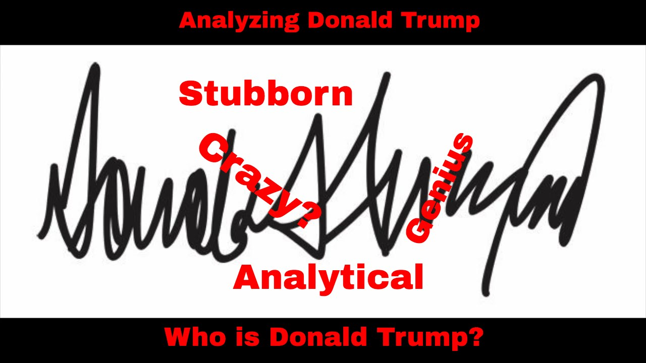 Analyzing Donald Trump