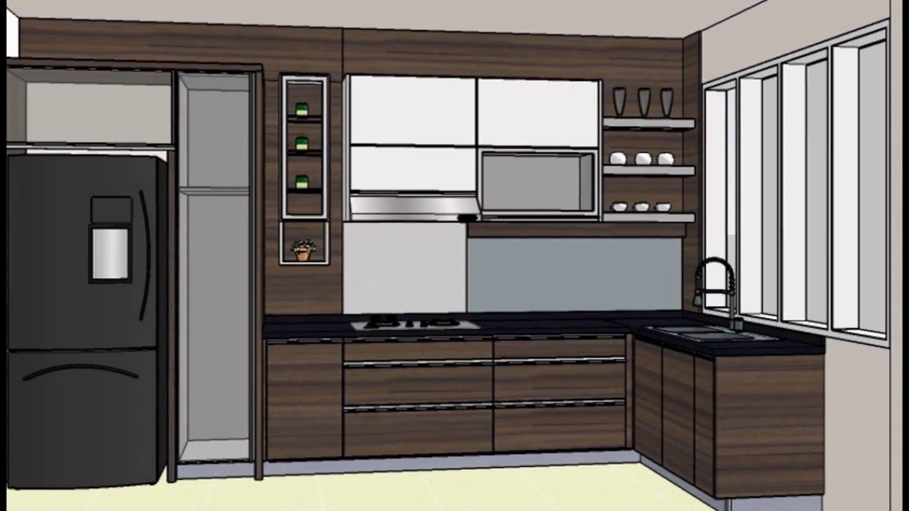 Wa 0818 020 769 46 dapur minimalis bandung desain for Harga kitchen set sederhana