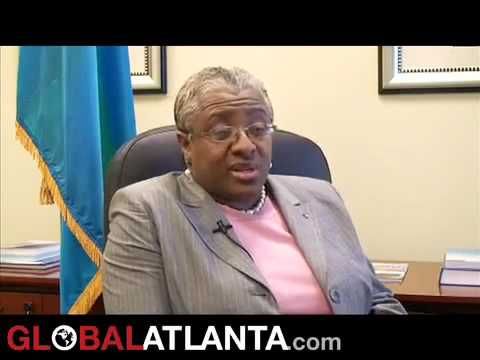 Bahamas Consulate opens in Atlanta - C.G. Katherine Smith Interview