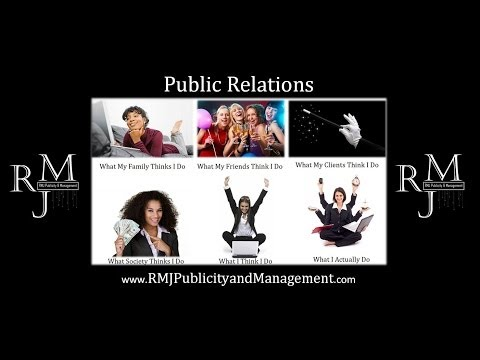 RMJ Publicity and Management Sizzle Reel