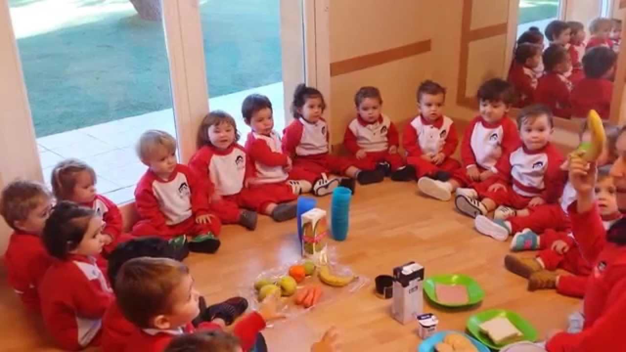 En nuestra escuela infantil pecas este grupo de 17 a 21 meses reconoce y prueba alimentos youtube - Escuelas infantiles pozuelo ...