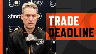 NHL Trade Deadline 2021: Chuck Fletcher | Flyers Live Stream