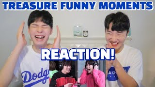 Download lagu TREASURE(트레저) FUNNY MOMENTS REACTION 웃음찾기 리액션 | Smile CHALLENGE | Japanese Members & KOREAN LANGUAGE