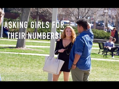 BEST WAY TO GET A GIRLS NUMBER!!! - Metro State University of Denver!
