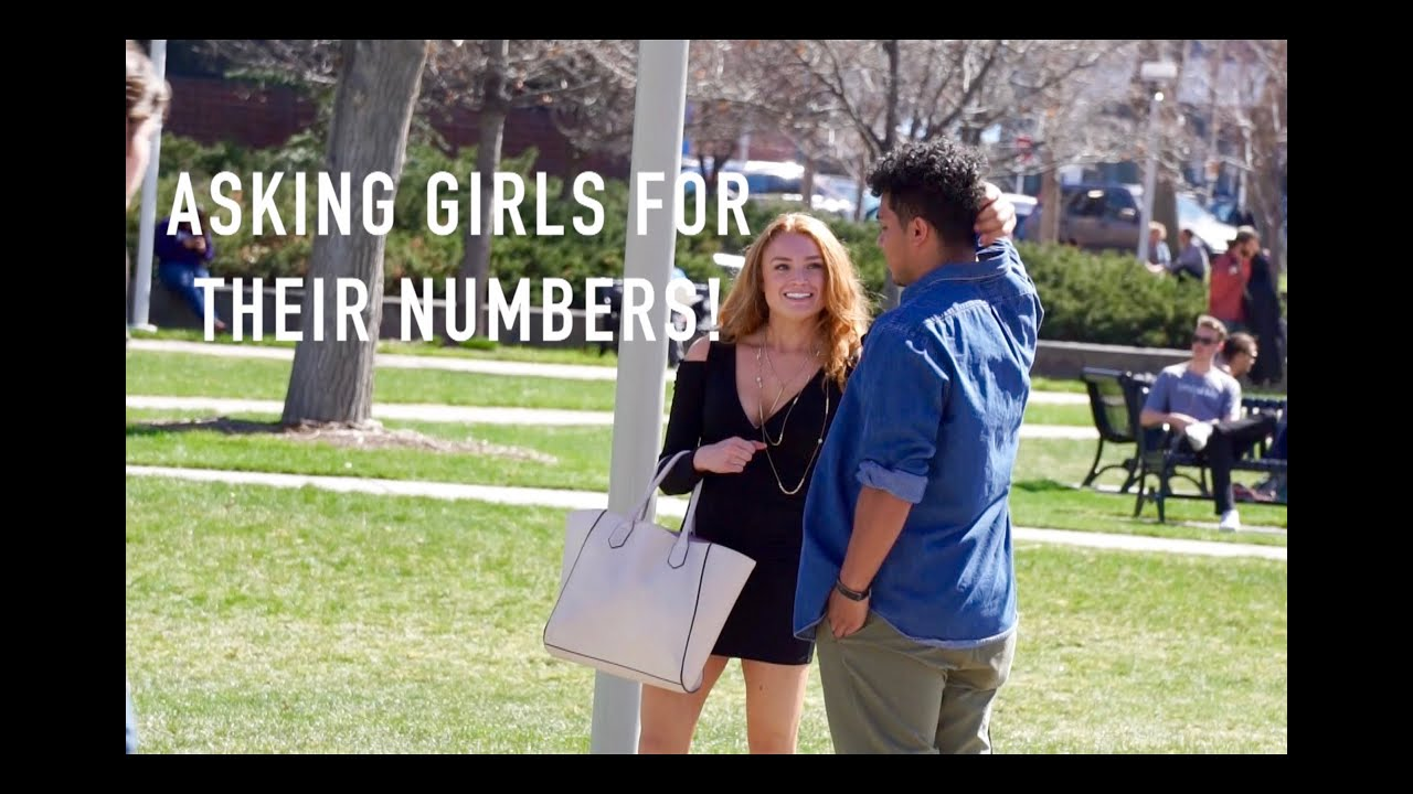 Ask for a girls number