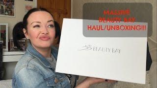 MASSIVE BEAUTYBAY HAUL/UNBOXING!!!!