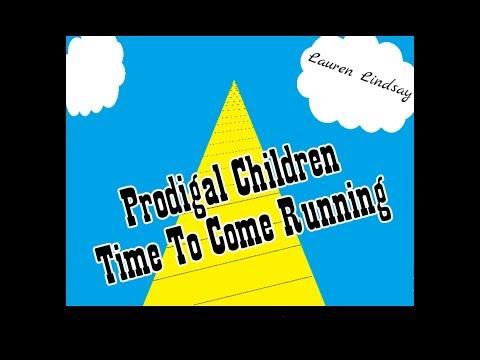 "♥Christian Alternative - ""Prodigal Children Time To Come Running"" Lyric Music Video - Lauren Lindsay"