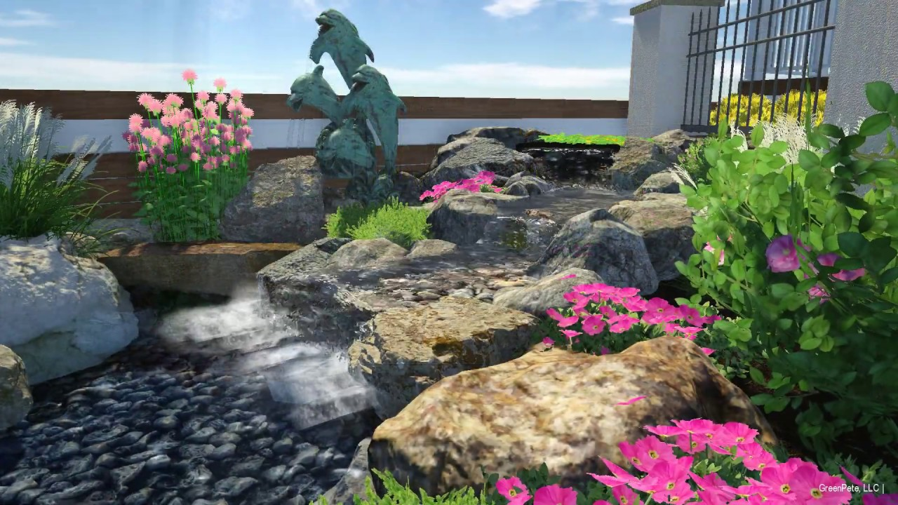 34 Point Dr. - Water Feature Layout