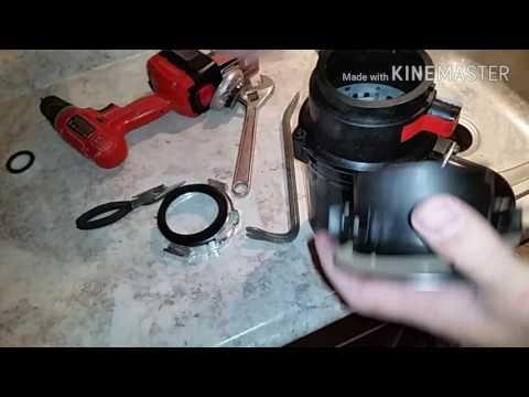 Part 7 of kitchen remodel: installing a garbage disposal