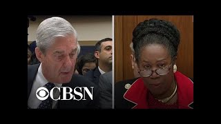 Rep. Jackson Lee questions Mueller on the 10 acts of possible obstruction