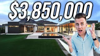 Inside A $3,850,000 Modern Mansion In Scottsdale Arizona | HOUSE TOUR