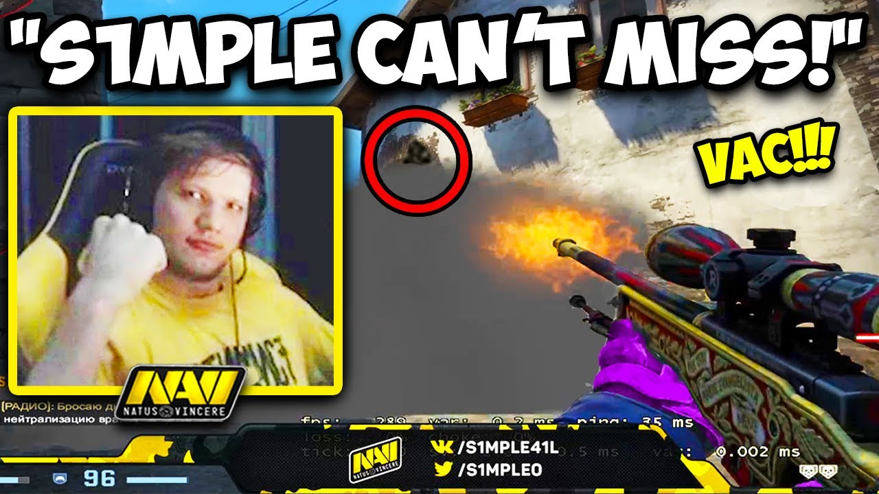 S1MPLE'S FLAWLESS AWP IS HITTING EVERYTHING! 180° FAST FLICK! CS:GO Twitch Clips