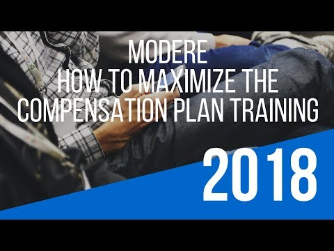 """Modere Opportunity Training – How To Maximize the """"Modere Compensation Plan"""""""