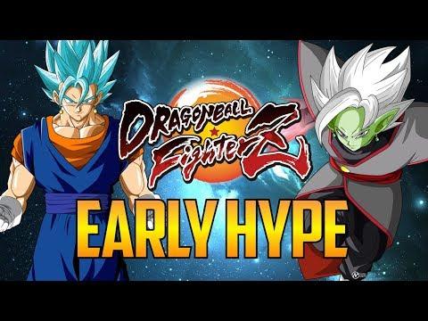 DBFZ ▰ Early Vegito Blue / Zamasu Hype 【Dragon Ball FighterZ】