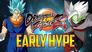 DBFZ ▰ Early Vegito Blue / Zamasu Hype 【Dragon Ball FighterZ】