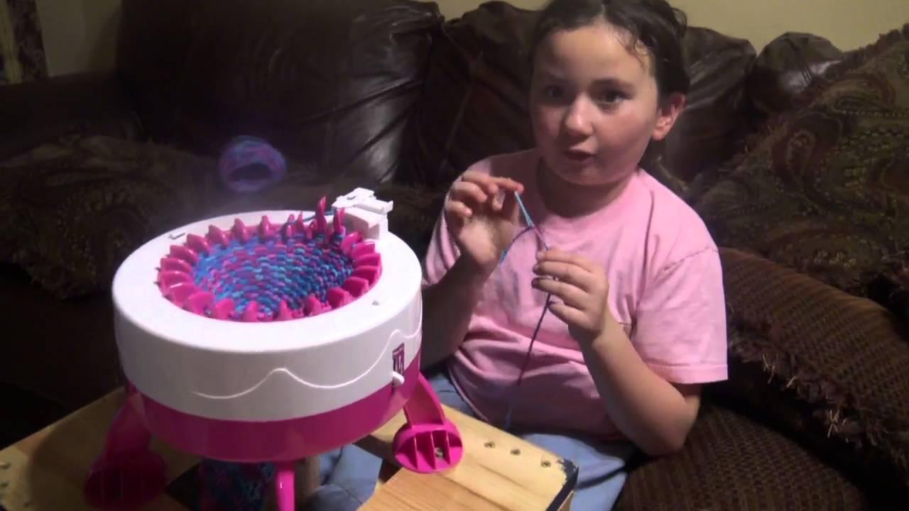 Kids Knitting Machine Youtube