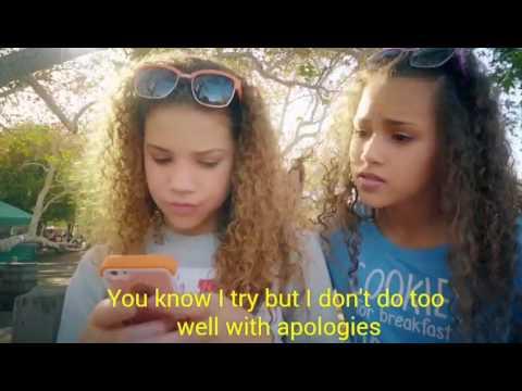 Haschak Sisters -Sorry (Lyrics on Video )