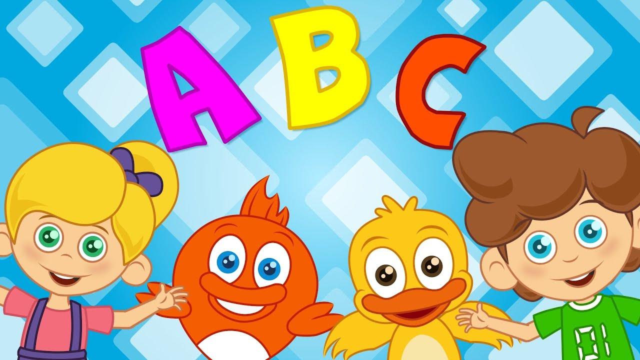 ABC Alfabe şarkısı | Sevimli Dostlar Çizgi Film Bebek Şarkıları | Adisebaba TV Çocuk Şarkıları 2016