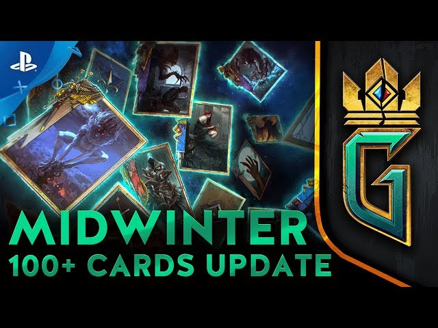 GWENT: The Witcher Card Game - Midwinter Update Trailer | PS4