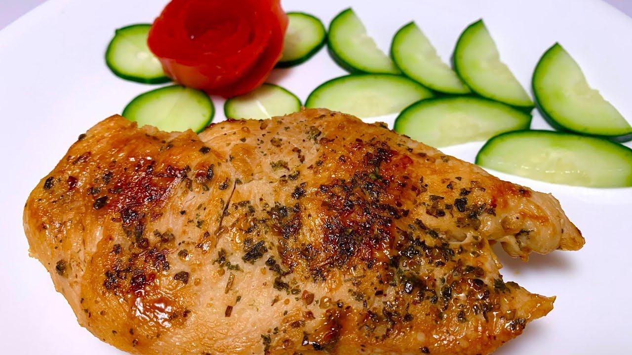Pechugas de pollo faciles, rapidas y riquisímas con una rica salsa