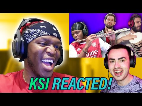 KSI Reacted to My Video - Reddit Broke! (Nathan Dawe x KSI x PewDiePie)